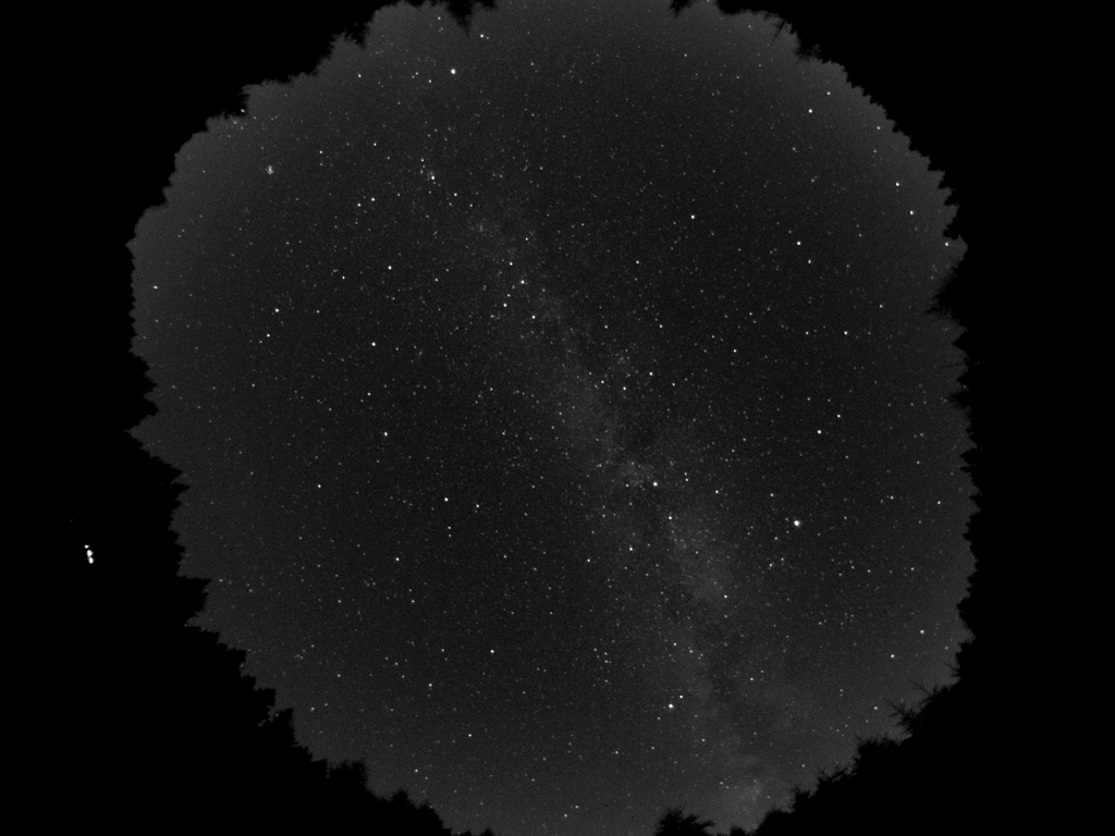All Sky Timelapse Movie ALccd5L-IIm 1.25mm F/? lens
