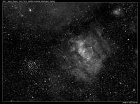 M52, NGC7635