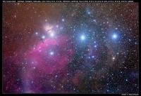 Orion, NGC2024, B33, IC434, LBN950, LBN958
