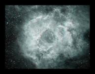 3D Anaglyph - NGC2237, NGC2244