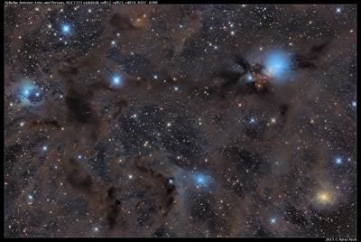 NGC1333 widefield, vdB12, vdB13, vdB16, Barnard 202-206
